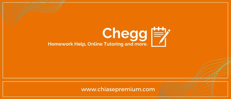 Chia se ho tro tai khoan Chegg Chiasepremium - Chegg