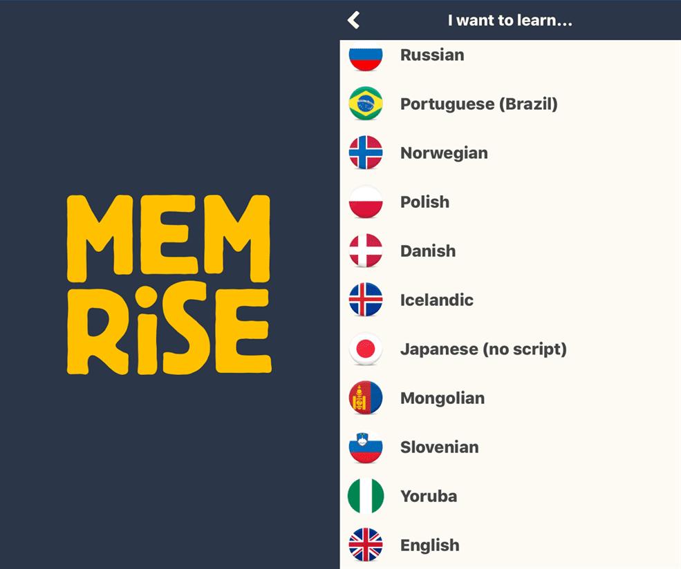 1 Hoc nhieu ngoai ngu voi ung dung Memrise - Học nhiều ngoại ngữ với ứng dụng Memrise