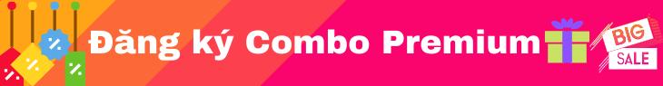 Dang ky Combo tai khoan Premium - Chia sẻ tài khoản premium và hỗ trợ sử dụng tài khoản, tài nguyên số miễn phí