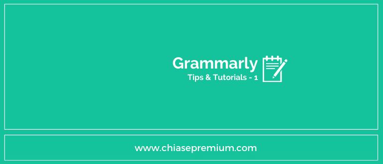 Giới thiệu ứng dụng Grammarly