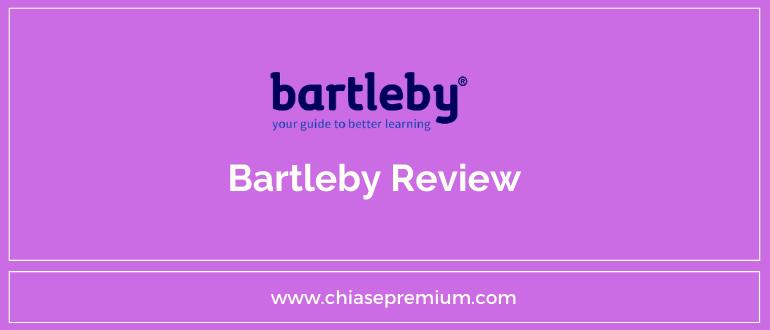 Đánh giá nhanh tài khoản Bartleby